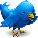 Click the Blue Bird to Tweet With Me on Twitter!