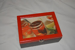 Caixa Chá - Laranja