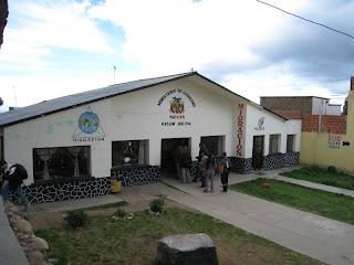 玻利維亞出入境大樓