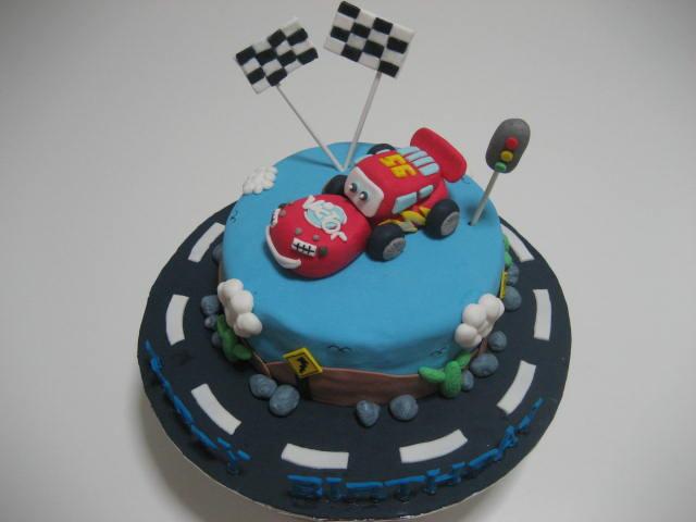 My Cake Story Disney Car Lighting Mcqueen