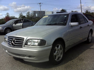 Interstate auto auction 2000 mercedes benz c230 up for for 2009 mercedes benz c230