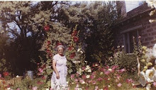 Cree Probst in her Flowers in Midway, UT