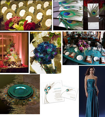 wedding feather centerpieces