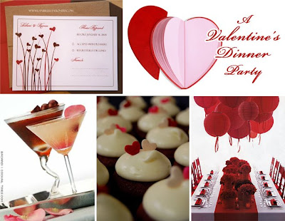 Valentine's Day Dinner Recipes, Valentine Cookies and Dessert Recipes