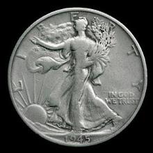 El primer dolar de plata