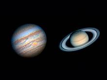 Júpiter y Satuno