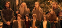 Hobbits are overrepresented in Elrond's newly formed Save the World contingent.
