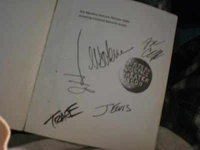 Signed by J. Elvis, Trace, J. H----, Sudoku, and Art Carney.
