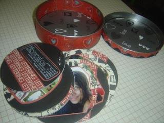 scrapbook com cd ou dvd