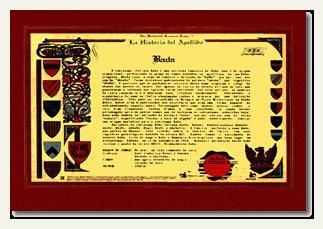 origem do nome e brasões