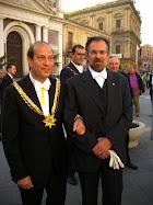 Dott. Francesco Stanzione Membro Onorario della Real Maestranza di Caltanissetta