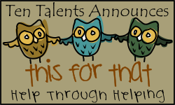 This for That Hop Hosted by Ten Talents Blog