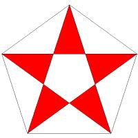 familia a de triángulos
