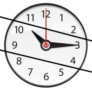 Reloj partido