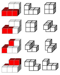 Descomponer en dos policubos