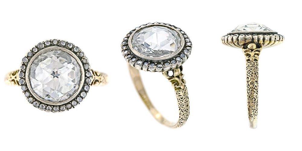 animal vintage estate jewelry antique wedding rings