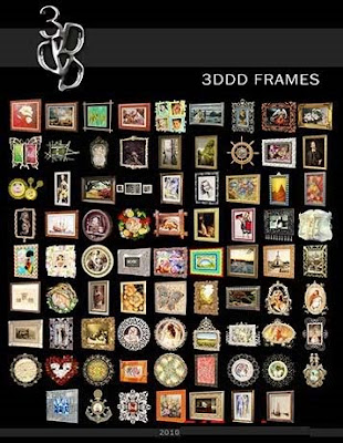 3D model Frame collection