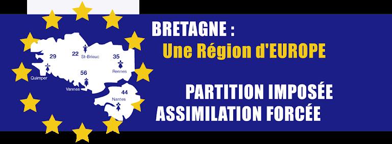 BRETAGNE : une région d'EUROPE