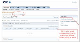 PayPal+8 Cara Membuat Rekening PayPal 100% Gratis