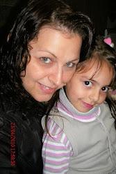 Eu e minha filha Isabela
