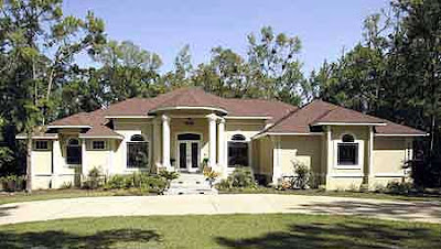 Contemporary florida style house plans Home style