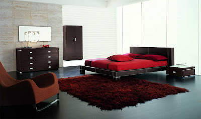 Modern Furniture : Zen 50 Modern Italian Leather Bed by SMA-Mobili