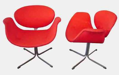 Red Chair Pierre Paulin Furniture