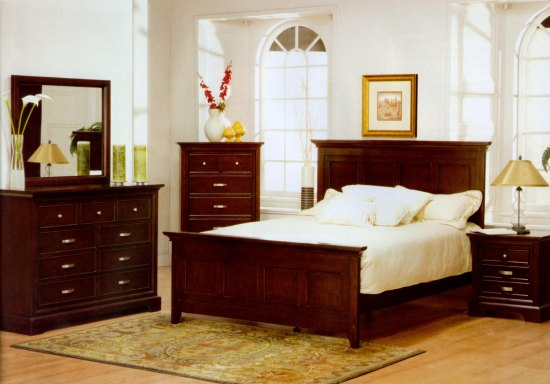 Modern Furniture - Bedroom Furniture - Bedroom Sets California King Size Beds - Glamour Six Piece California King Bedroom Set   Glam