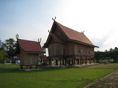 Jambi Traditional House Indonesian