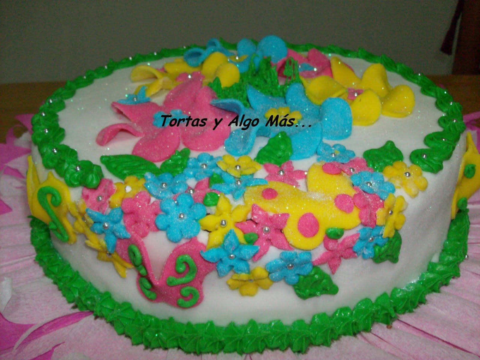 Tortas y Algo Más: Torta Primaveral