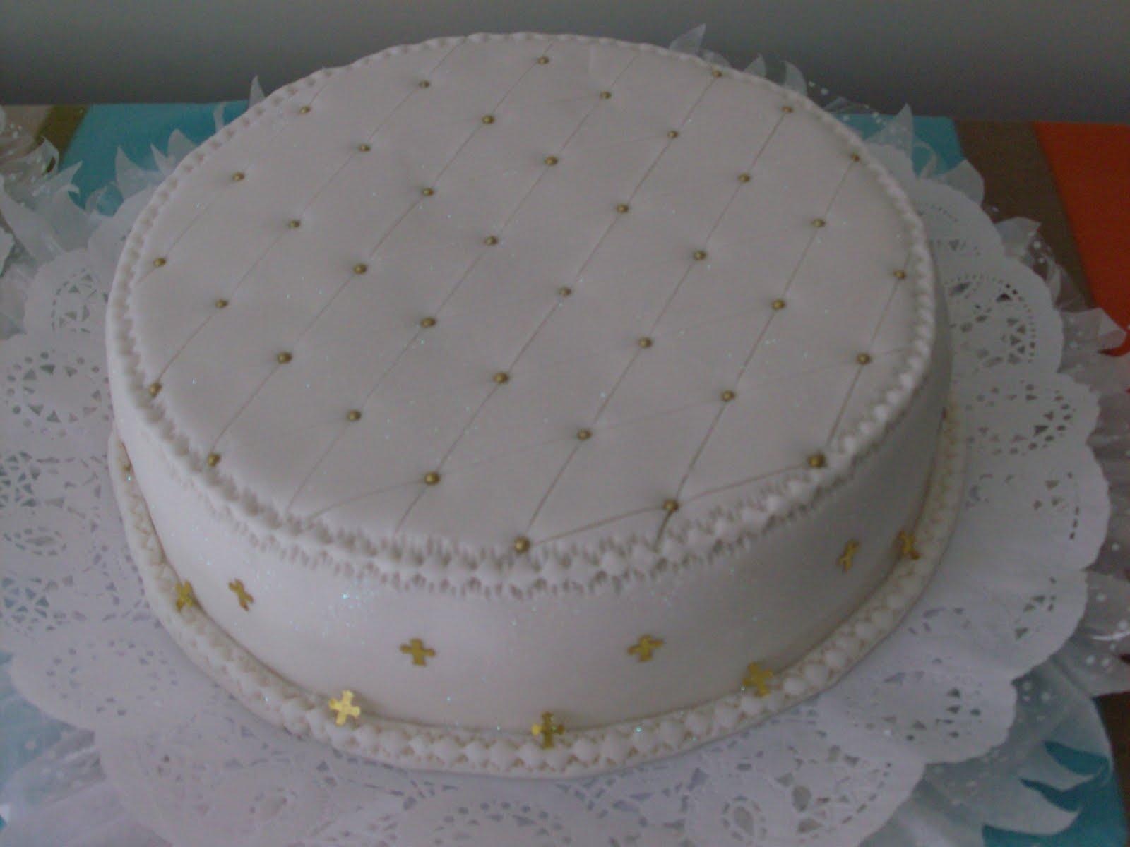 Tortas y Algo Más: Torta para Bautizo