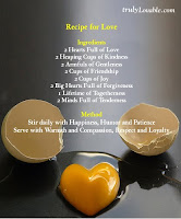 ReCipE fOr LOvE  =)