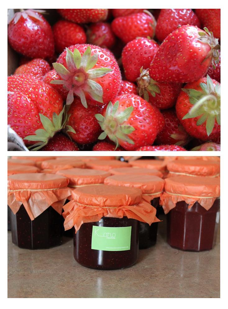 Karo creations confiture de fraises - Comment cueillir des fraises ...