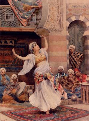 Accessoires du Ghawazee Tambourine_Dance