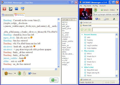 Sockmix Messenger v.1.4