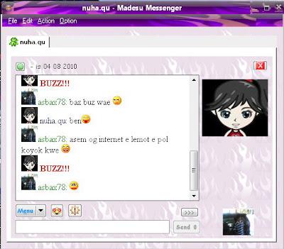 Madesu Messenger v.1.0.0