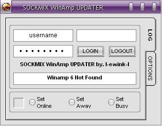 SOCKMIX WinAmp UPDATER