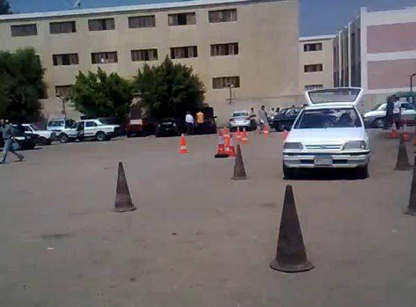 فيديو اختبار مرور مصر ووضوح مدي صعوبته لكنه في غاية السهولة معنا