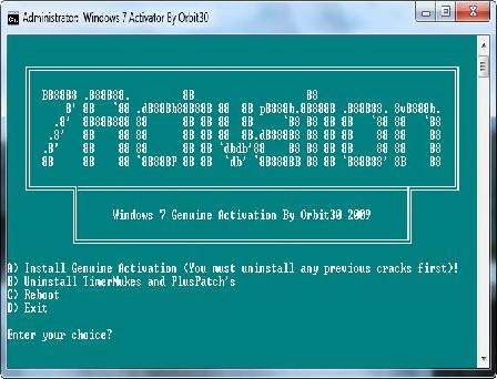 windows 7 activator exe