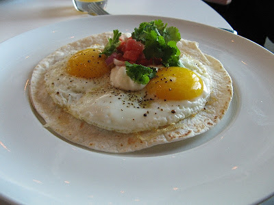 Huevos Monty at Mildred's Temple Kitchen