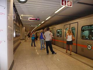 Le métro d'Athènes