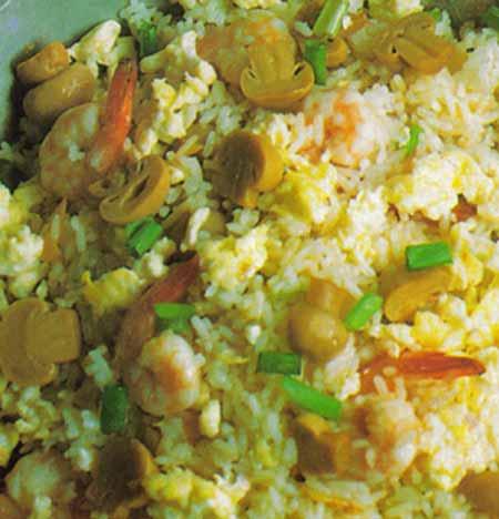 aneka rasa ala thai: nasi goreng sayur