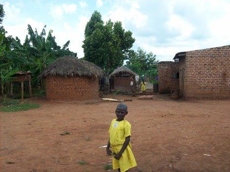Village life in Kyebajatobono, Uganda