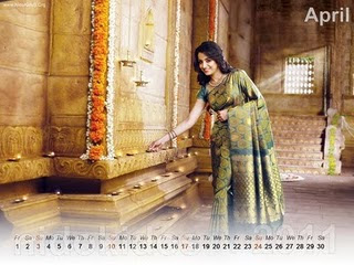 Trisha Desktop Calendar 2011