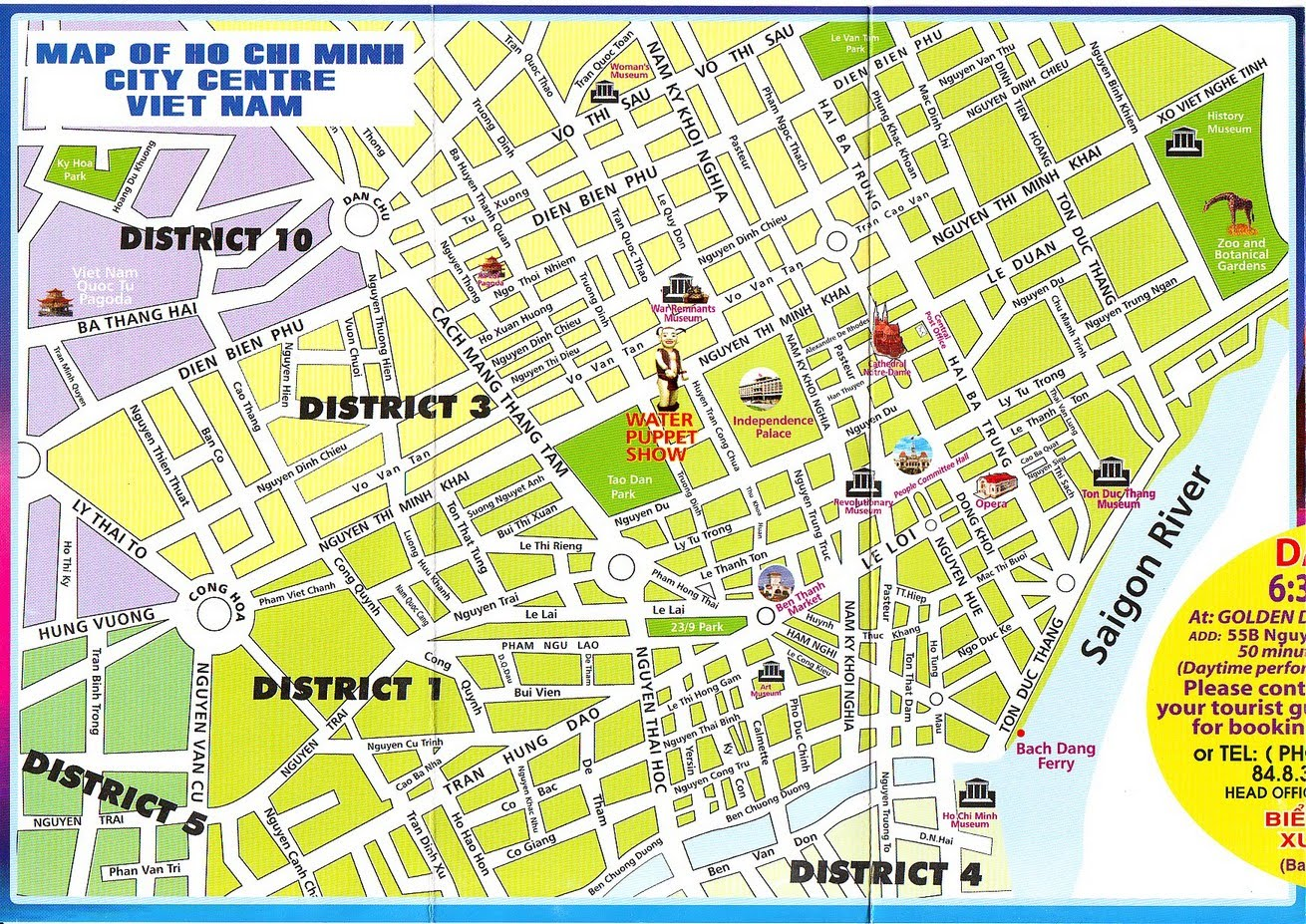 Explore Kaki Ho Chi Minh City Map