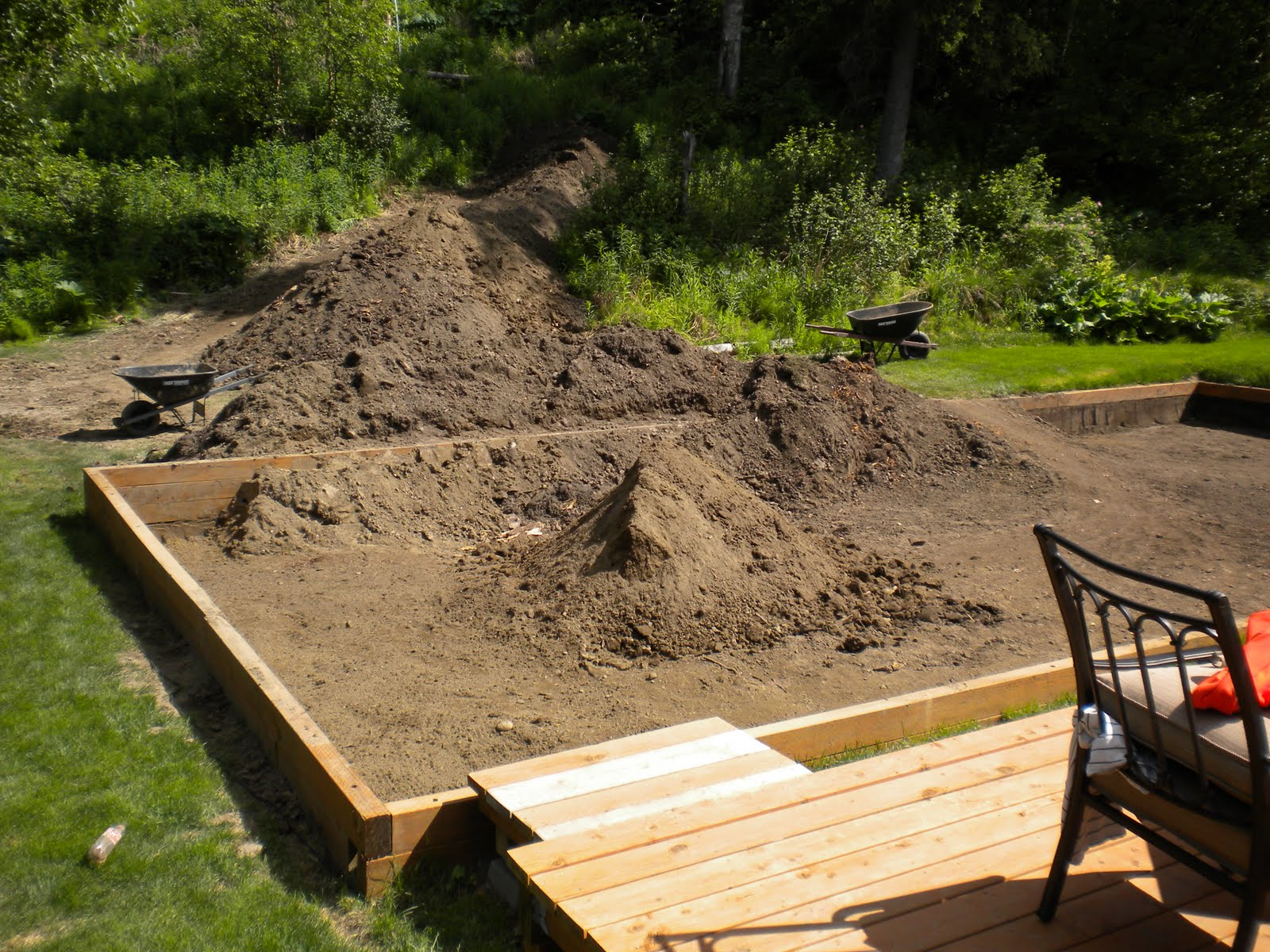 Backyard Sand Volleyball Court : The Quest for the Backyard Sand Volleyball Court