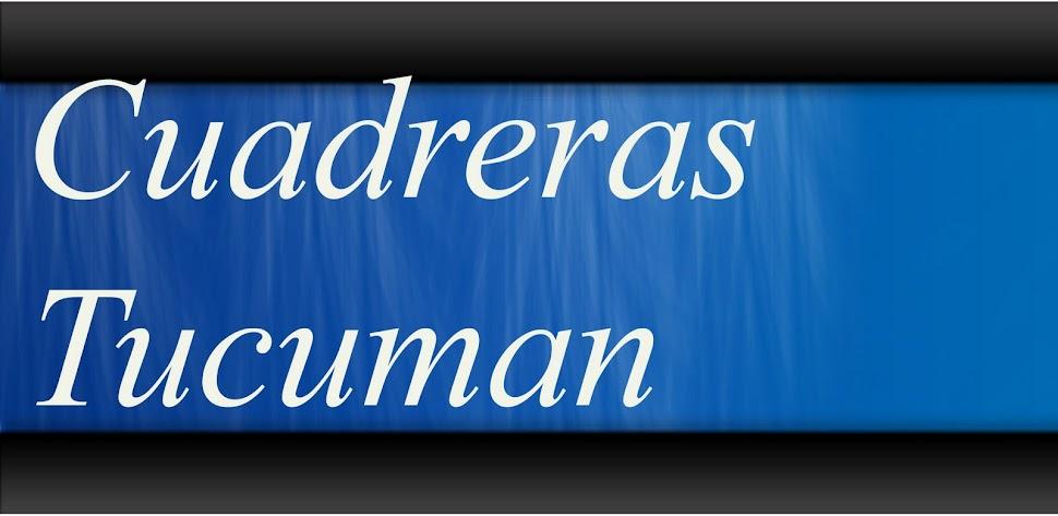 CUADRERAS TUCUMAN