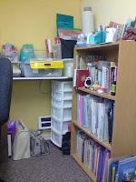storage in my new workspace