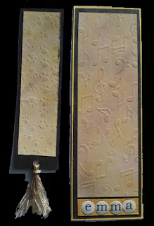 texture plate bookmarks