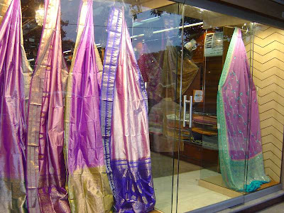 Showcase of sarees